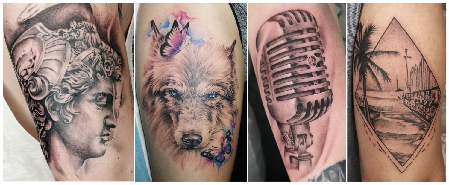 Tattoos done by Tory Sutherland-Dadds