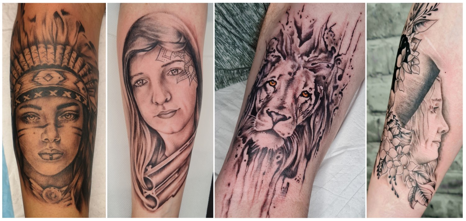 Fineline tattoos done by Tory Sutherland-Dadds